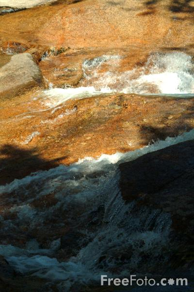 Picture of Waterfall, Table Rock, Lincoln, New Hampshire, USA - Free Pictures - FreeFoto.com