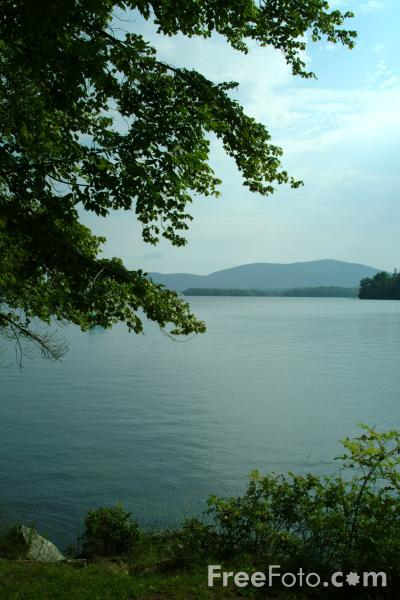 Picture of Squam Lake, Holderness, New Hampshire, USA - Free Pictures - FreeFoto.com