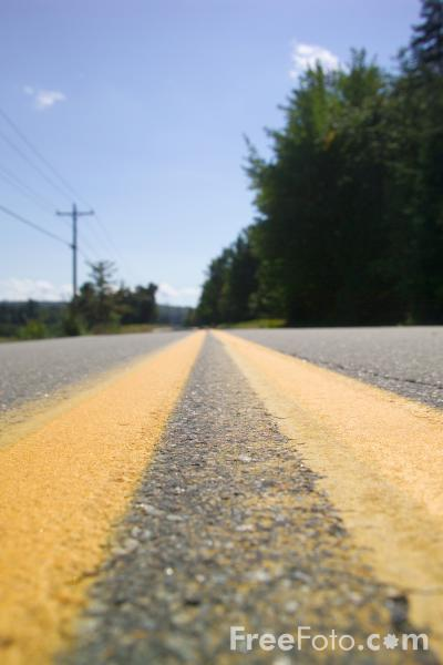 Picture of Road, New Hampshire, USA - Free Pictures - FreeFoto.com