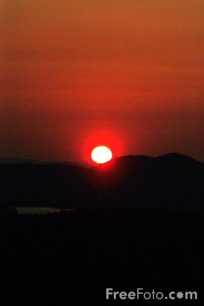 Picture of Sunset, New Hampshire, USA - Free Pictures - FreeFoto.com