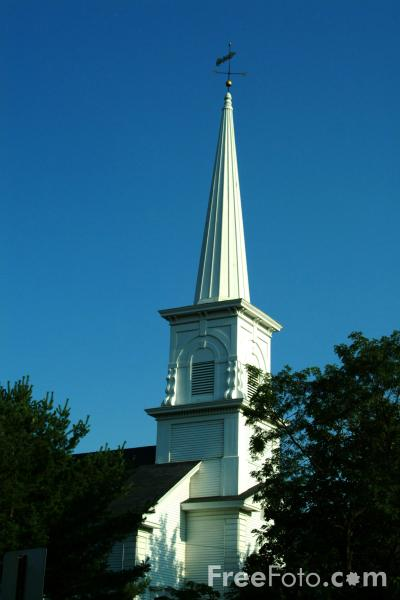 Picture of Church, Gorham, New Hampshire, USA - Free Pictures - FreeFoto.com