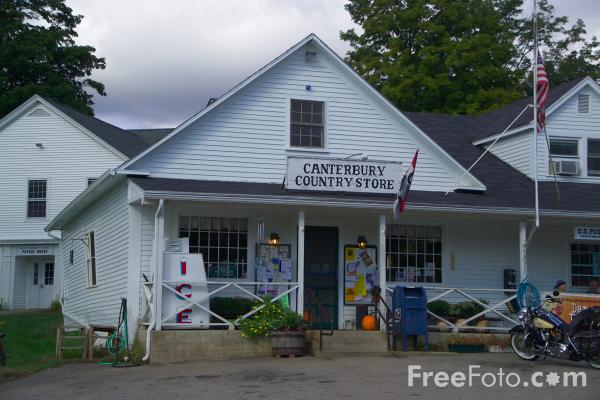 Picture of Canterbury Country Store, New Hampshire, USA - Free Pictures - FreeFoto.com
