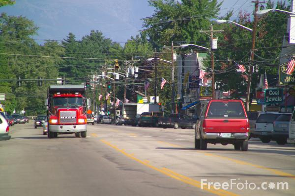 Picture of North Conway, New Hampshire, USA - Free Pictures - FreeFoto.com