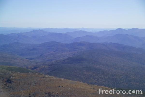Picture of View from Mount Washington, New Hampshire, USA - Free Pictures - FreeFoto.com