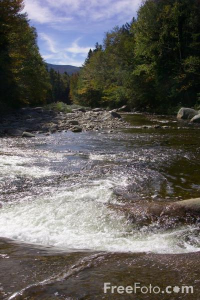 Picture of Ammonoosuc River, New Hampshire, USA - Free Pictures - FreeFoto.com