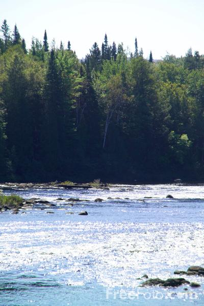 Picture of Androscogin River, New Hampshire, USA - Free Pictures - FreeFoto.com