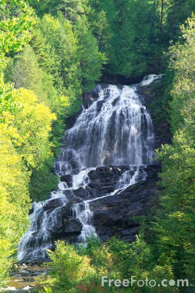 Picture of Beaver Brook Falls, Colebrook, New Hampshire, USA - Free Pictures - FreeFoto.com