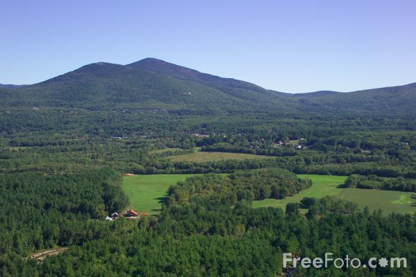Picture of Cathedral Ledge, North Conway, New Hampshire, USA - Free Pictures - FreeFoto.com