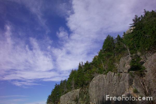 Picture of Crawford Notch, New Hampshire, USA - Free Pictures - FreeFoto.com