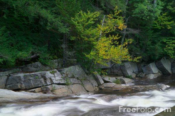 Picture of Jackson Falls , Jackson, New Hampshire, USA - Free Pictures - FreeFoto.com