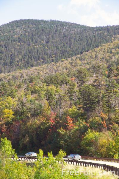Picture of Kancamagus Highway, New Hampshire, USA - Free Pictures - FreeFoto.com