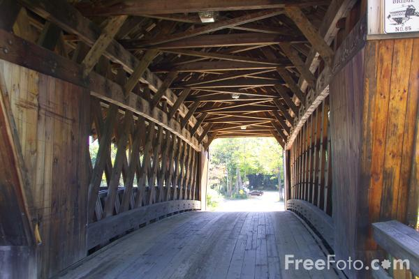 Picture of Squam Bridge, Ashland, New Hampshire, USA - Free Pictures - FreeFoto.com