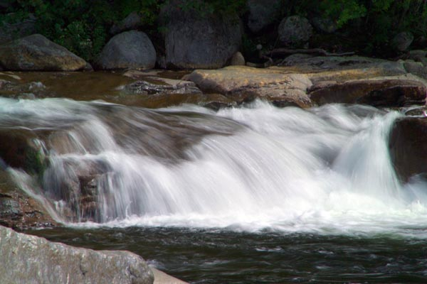 Picture of Lower Falls, Swift River, New Hampshire, USA - Free Pictures - FreeFoto.com