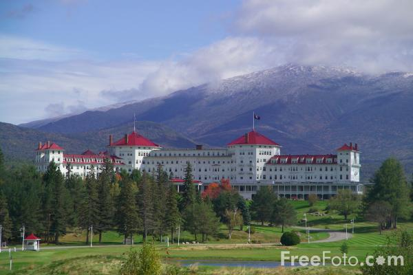 Picture of Mount Washington Hotel, New Hampshire, USA - Free Pictures - FreeFoto.com