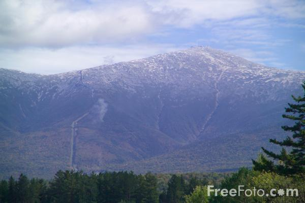 Picture of Mount Washington, New Hampshire, USA - Free Pictures - FreeFoto.com