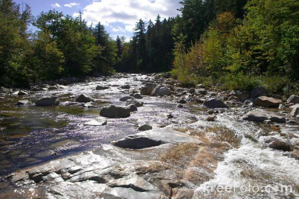 Rocky Gorge, Swift River, New Hampshire, USA pictures ...