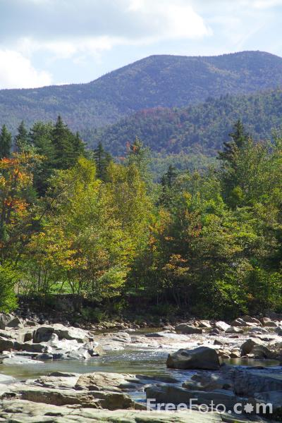 Picture of Rocky Gorge, Swift River, New Hampshire, USA - Free Pictures - FreeFoto.com