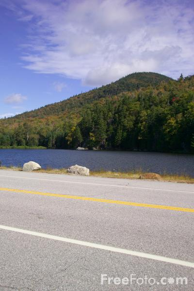 Picture of Saco Lake, New Hampshire, USA - Free Pictures - FreeFoto.com