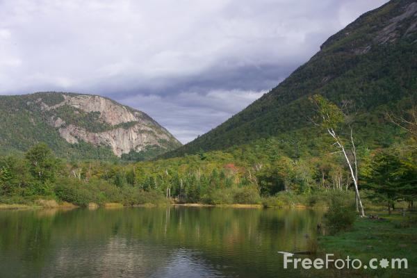 Picture of Willey Pond,  New Hampshire, USA - Free Pictures - FreeFoto.com