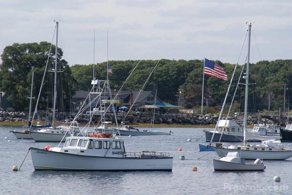 Picture of Rye Harbor,  New Hampshire, USA - Free Pictures - FreeFoto.com