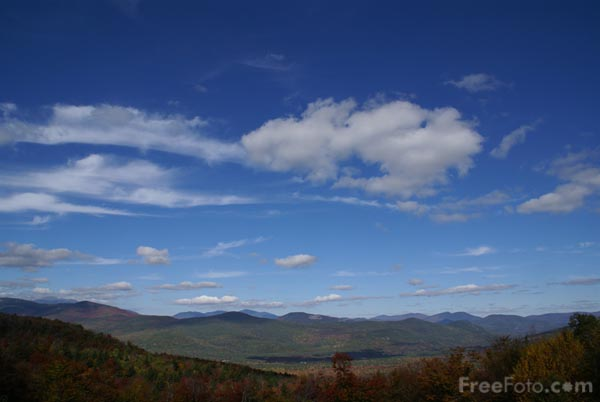 Picture of White Mountains, New Hampshire, USA - Free Pictures - FreeFoto.com