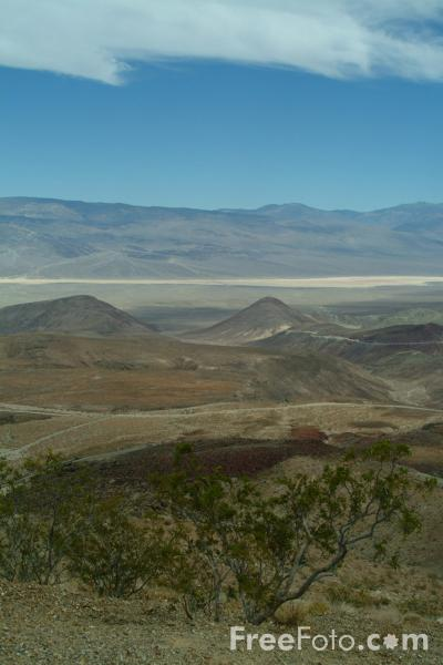 Picture of Death Valley, California, USA - Free Pictures - FreeFoto.com