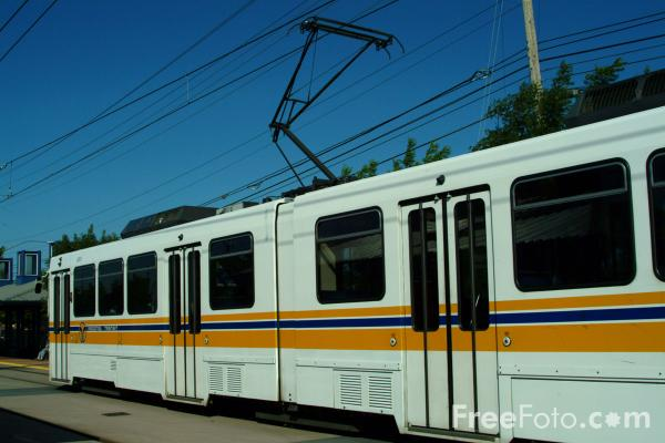 Picture of Sacramento Regional Transit District  light rail system, California , USA - Free Pictures - FreeFoto.com