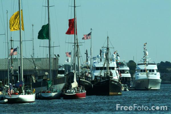 Picture of Newport, Rhode Island, USA - Free Pictures - FreeFoto.com