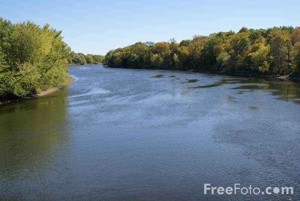 Picture of Mississippi River, Minnesota, USA - Free Pictures - FreeFoto.com