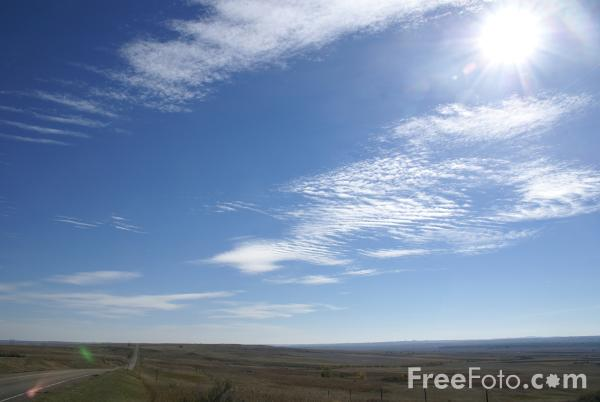 Picture of Big Sky Country, Great Plains, Montana, USA - Free Pictures - FreeFoto.com