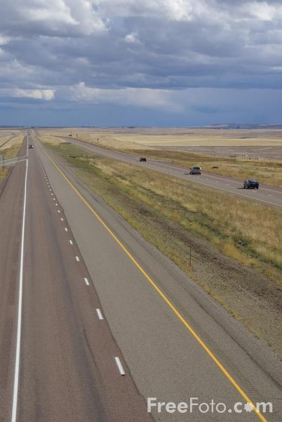 Picture of Interstate 15, Montana, USA - Free Pictures - FreeFoto.com