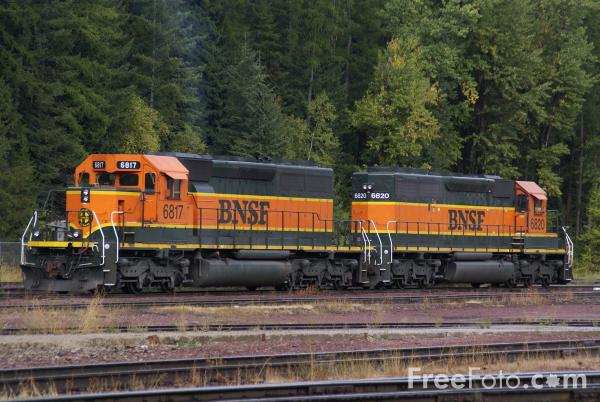 Picture of BNSF helper station, Essex, Montana, USA - Free Pictures - FreeFoto.com