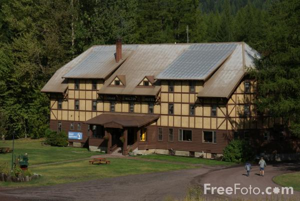 Picture of Izaak Walton Inn, Essex, Montana, USA - Free Pictures - FreeFoto.com