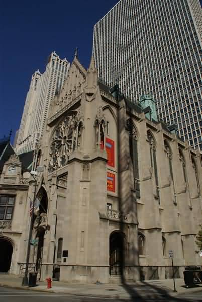 Picture of Holy Name Cathedral, Chicago, Illinois, USA - Free Pictures - FreeFoto.com