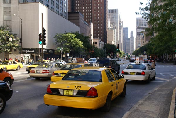 taxi cab chicago illinois usa pictures free use image 1225 08 2 by. Black Bedroom Furniture Sets. Home Design Ideas