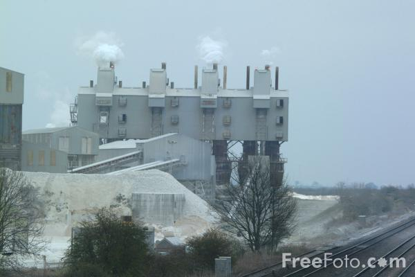Picture of Lime Works, Croxton, Lincolnshire - Free Pictures - FreeFoto.com