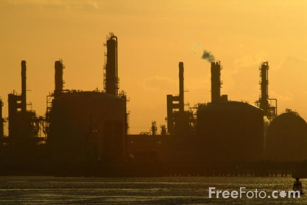 Picture of Chemical Works, Seal Sands, River Tees, Teesmouth - Free Pictures - FreeFoto.com