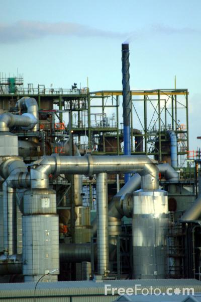 Picture of Chemical Works, Billingham, Teesside - Free Pictures - FreeFoto.com