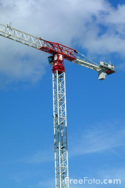 Picture of Crane, Salford Quays, Manchester - Free Pictures - FreeFoto.com