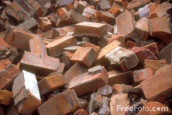 Picture of Bricks - Free Pictures - FreeFoto.com