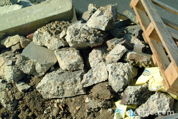 Picture of Pile of rubble - Free Pictures - FreeFoto.com