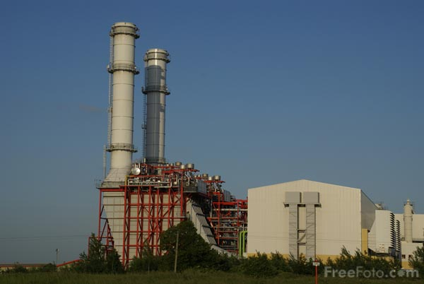 Picture of Sutton Bridge Power Station, Lincolnshire - Free Pictures - FreeFoto.com