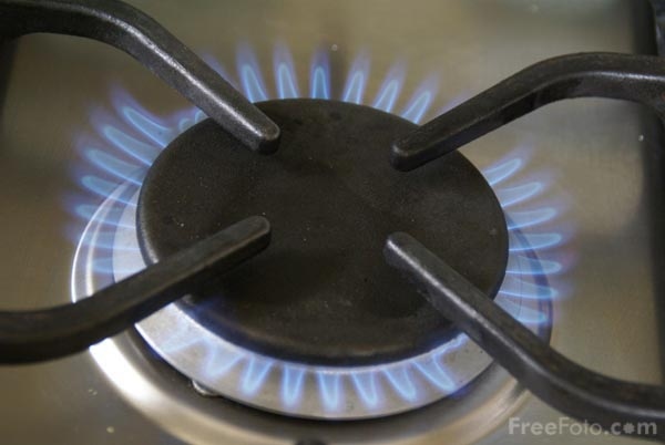 Picture of Gas Cooker - Free Pictures - FreeFoto.com