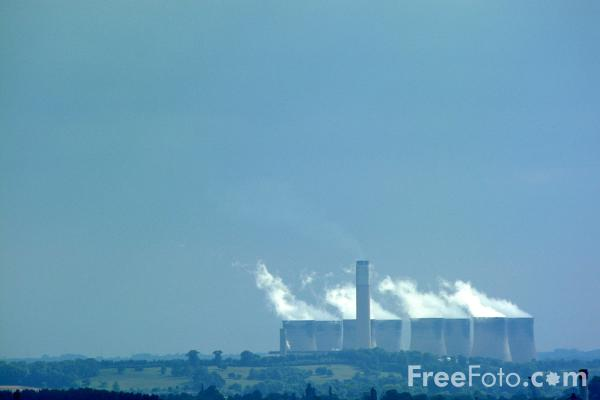 Picture of Ratcliffe on Soar Coal Powered Power Station - Free Pictures - FreeFoto.com