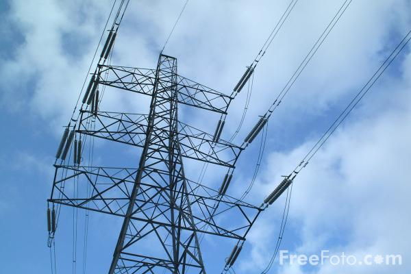High Voltage Power Lines : High voltage power lines pictures free use image