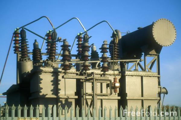 Picture of High voltage transformer, Newcastle upon Tyne - Free Pictures - FreeFoto.com