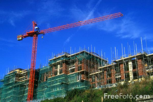 Picture of Construction Site, Quayside, Newcastle upon tyne - Free Pictures - FreeFoto.com