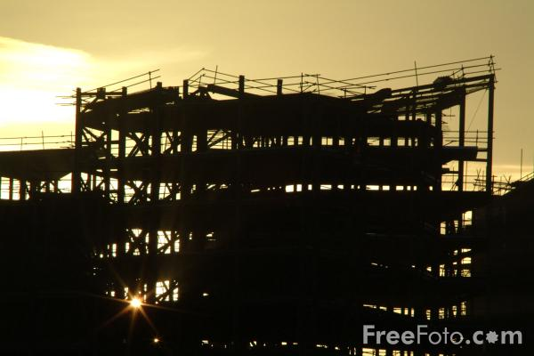 Picture of Construction Site, Riverside, Stockton on Tees - Free Pictures - FreeFoto.com