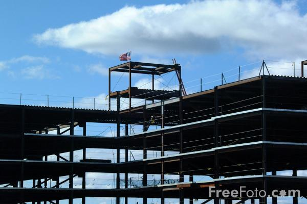 Picture of Construction Site, Boston, MA, USA - Free Pictures - FreeFoto.com