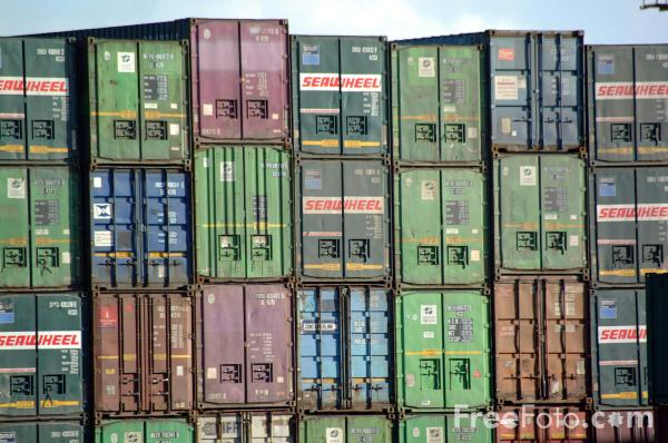 Picture of Containers - Free Pictures - FreeFoto.com
